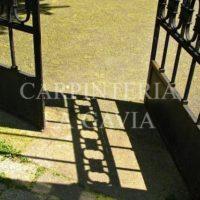 El mantenimiento de puertas, rejas y cancelas metálicas de hierro